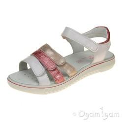 Primigi PAU 13839 Girls Coral-White Sandal