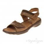 Josef Seibel Debra 19 Womens Castagne Brown Sandal