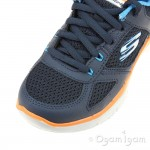Skechers Flex Advantage 2.0 Boys Navy-Blue Trainer