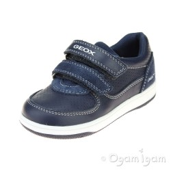 Geox Flick Boys Navy Shoe