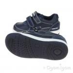 Geox Flick Boys Navy Shoe