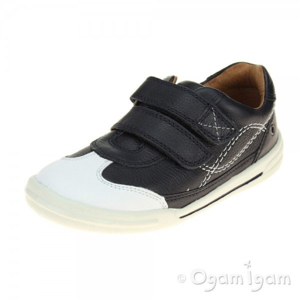 Start-rite Flexy Soft Turin Boys Navy Shoe