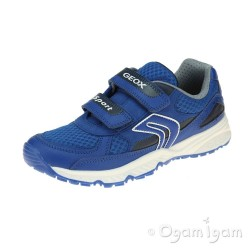 Geox Bernie Boys Royal Blue Trainer