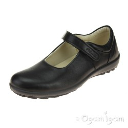 Primigi 43747 Girls Black School Shoe