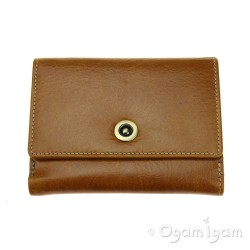 Blousey Brown 10168 Tan Leather Wallet