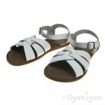 Salt-Water Original White Womens White Sandal