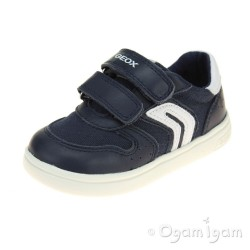 Geox DJ Rock Boys Navy-White Shoe