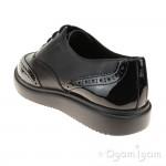 Geox Thymar Girls Black School Shoe