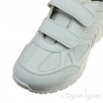 Geox Pavel Boys-Girls White School Trainer