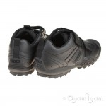 Geox Savage Boys Black Trainer School Shoe