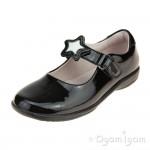 Lelli Kelly Colourissima Girls Black Patent School Shoe