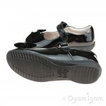 Lelli Kelly Begonia Girls Black Patent School Shoe