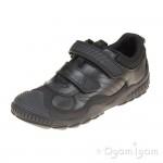 Start-rite Extreme Pri Boys Black School Shoe