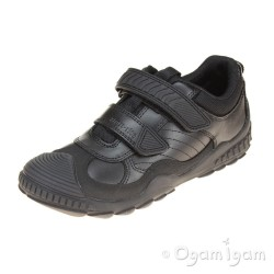 Start-rite Extreme Pri Boys Black School Shoe
