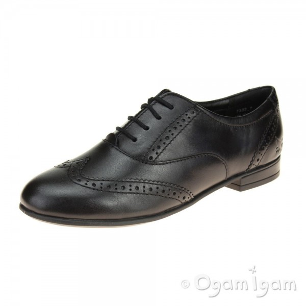 Start-rite Matilda Girls Black School Shoe