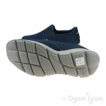 Skechers Equalizer Double Play Mens Navy Shoe