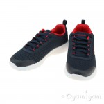 Skechers Dynamite Turbo Dash Boys Navy-Red Trainer