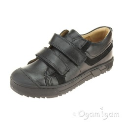 Primigi PSB 24247 Boys Black School Shoe