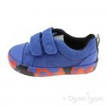 Clarks City Vine Lo Blue Camo Shoe