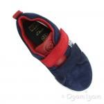 Clarks City Hero Lo Boys Blue Suede Shoe