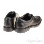 Clarks Asher Grove Boys Black School Shoe
