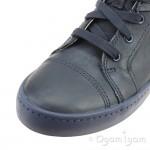 Clarks City Oasis Hi Boys Navy Combi Boot