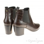 Geox New Lucinda Womens Coffee Brown Boot