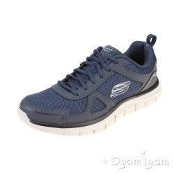 Skechers Track Scloric Mens Navy Trainer