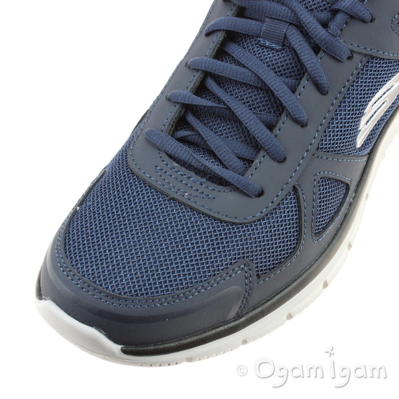 08d6a2d05237 ... Skechers Track Scloric Mens Navy Trainer ...
