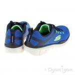 Skechers Equalizer 3.0 Boys Blue-Navy Trainer