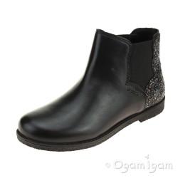 Geox Shawntel Girls Black Boot
