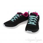 Skechers Go Run 600 Fun Run Girls Black-Multi Trainer