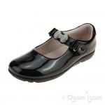 Lelli Kelly Mandy Girls Black Patent School Shoe
