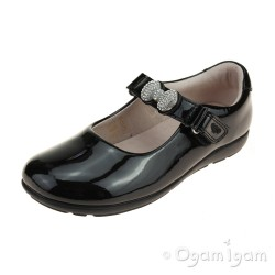 Lelli Kelly Mandy Girls Black Patent School Shoe