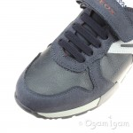 Geox Alfier Boys Navy-Grey Shoe