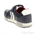 Geox Alfier Boys Navy-Grey Shoe