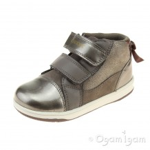 Geox New Flick Girl Girls Smoke Grey Boot