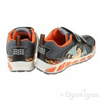 Geox Shuttle Boy Boys Black-Orange Trainer