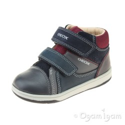 Geox New Flick Boy Infant Boys Navy-Grey Boot
