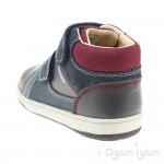 Geox New Flick Boy Infant Boys Navy-Grey Boot