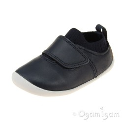 Clarks Roamer Seek Infant Boys Navy Shoe