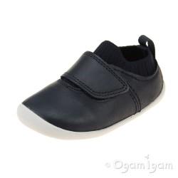 Clarks Roamer Seek Infant Boys Navy Shoe