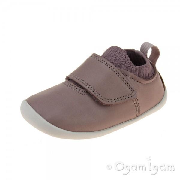Clarks Roamer Seek Infant Girls Pink Shoe