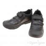 Start-rite Score Boys Black School Shoe