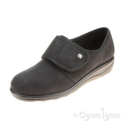 Romika Romisana 100 Womens Black Slipper