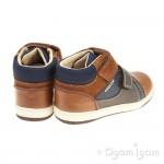 Geox New Flick Boy Boys Brandy-Navy Boot