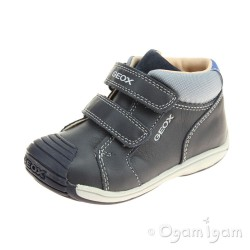 Geox Toledo Boy Boys Dark Navy-Grey Boot