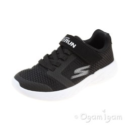 Skechers Go Run 600 Roxlo Boys Black Trainer