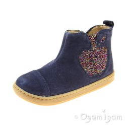 Shoo Pom Bouba Apple Girls Night Blue Boot