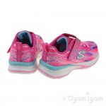Skechers JumpinJams DreamRunner Girls Pink-Multi Trainer